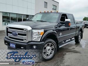 2015 Ford Super Duty F-250 Platinum *Leather**Nav**Moonroof*