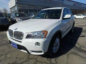 2011 BMW X3, AWD,LOADED,3 YEARS,EXTENDED WARRANTY AVAILABLE