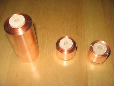 3 Rolle Kupferband Kupferfolie  99.95% Reinheit
