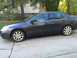 2007 Honda Accord EX-L V6 Loaded, with winter tires