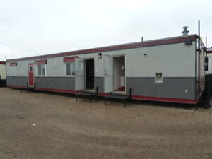 12x60 Skid Office Trailer With Bathroom For Rental
