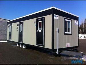 Toilette unité sanitaire toilette de chantier toilette autonome Saint-Hyacinthe Québec image 4