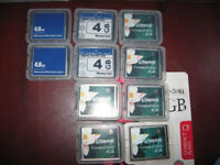 Compact Flash cards 4GB
