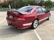 2006 Ford Falcon BF MkII XR6 Maroon 4 Speed Auto Seq Sportshift Sedan Morayfield Caboolture Area Preview