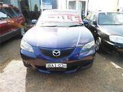 2004 Mazda 3 BK10F1 Maxx Purple Manual Sedan Minchinbury Blacktown Area Preview