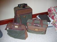 3 piece luggage set by Unicorm - very good condition