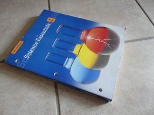 Science Essentials 9 Workbook by McGraw-Hill Ryerson