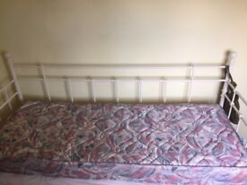 Single Narrow Mattress 6ft by 2ft 6in. Very good condition