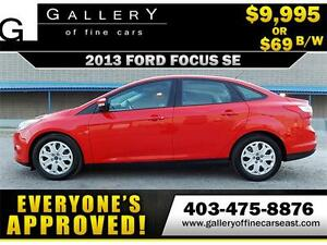 2013 Ford Focus SE $69 BI-WEEKLY APPLY NOW DRIVE NOW