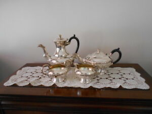 Silver Coffee Tea Set