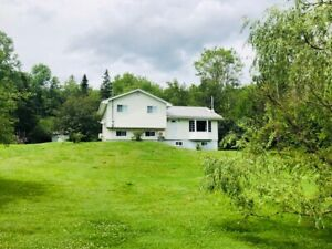 4 bedroom, 4-level split home located on private 3 acre lot!