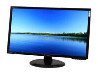 "27"" LED Widescreen PC Monitor HDMI DVI VGA Built in speakers"