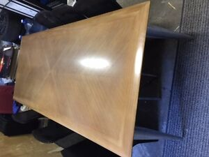 Starck Table with 6 Zanotta black chairs