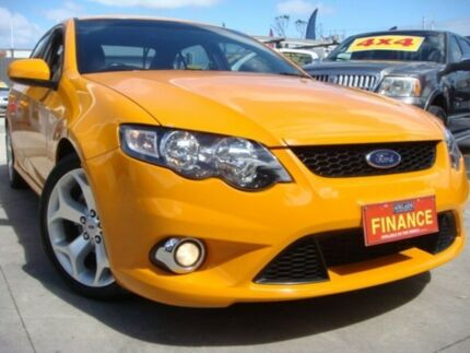 2008 Ford Falcon FG XR6 Orange 5 Speed Sports Automatic Sedan Enfield Port Adelaide Area Preview