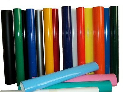 Vinyl Rolls Film Material Self Adhesive Backed Sign Colors Package 15 24 10yd