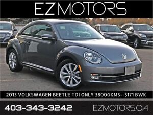 2013 Volkswagen Beetle TDI Coupe Highline|ONLY 38000KMS|$171 BWK