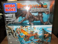 ***MEGA BLOKS 9652 DRAGONS RIDERS SEA ASSAULT/SEALED!!!***