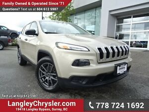 2015 Jeep Cherokee Sport W/ POWER WINDOWS/LOCKS, BLUETOOTH &...