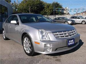2006 CADILLAC STS ** NAVIGATION * LEATHER * POWER GLASS ROOF *