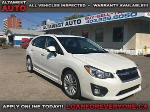 2013 Subaru Impreza 2.0i w/Limited Pkg AWD LEATHER NAVI