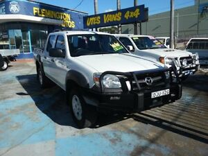 2010 Mazda BT-50 09 Upgrade Boss B3000 DX White 5 Speed Manual Dual Cab Pick-up Homebush West Strathfield Area Preview