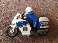 Playmobil Police bike