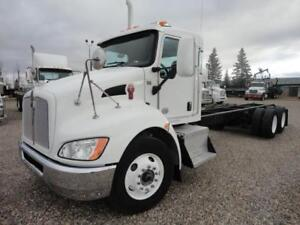 2012 Kenworth T370 with PTO Gear in transmission