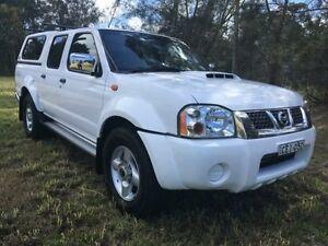 2011 Nissan Navara D22 Series 5 ST-R (4x4) White 5 Speed Manual Dual Cab Pick-up Tuggerah Wyong Area Preview