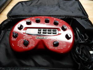 Pod Line 6 effects pedal + case