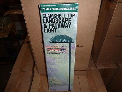 Top Landscape Light - Case of 6 Clamshell Top Pathway light Landscape Lighting incandescent GREEN Lot