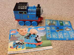 Thomas the Tank Mega Blocks 2 in 1 Buildable Thomas