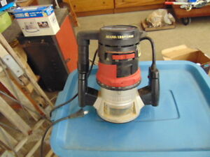 CRAFTSMAN ROUTER HD MODEL 315 244770