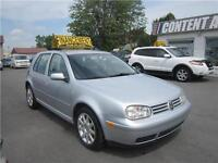 2007  Golf 97000km  City 2,0 ac   1.2.3 CHANCE AU CREDIT