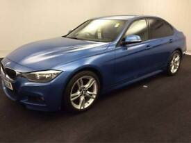 BMW 318 2.0TD 143bhp s/s Leather d M Sport BUY FOR ONLY £56 A WEEK *FINANCE*
