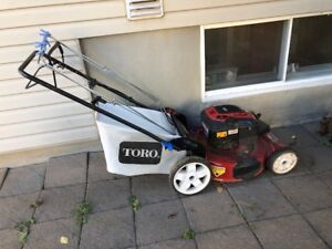 Toro Lawnmower with front wheel drive