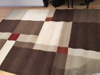 Beautiful Modern Rug for living room - large size 116 x 79 inches