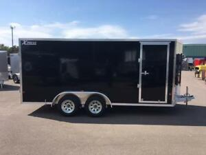 NEW 2017 XPRESS 7' x 16' ALUMINUM ENCLOSED TRAILER