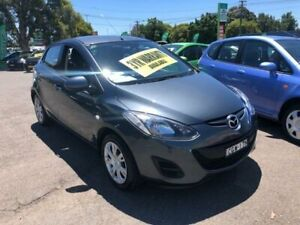 2012 Mazda 2 DE10Y2 MY12 Neo Charcoal 4 Speed Automatic Hatchback