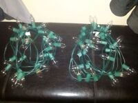 4 Sets Outdoor Christmas Lights **Clear white**