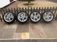 BMW F30/31 18 inch Alloy Wheels + Tyres