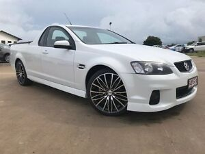 2011 Holden Ute VE II SV6 White 6 Speed Sports Automatic Utility Garbutt Townsville City Preview