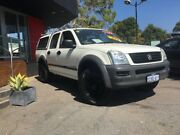 2004 Holden Rodeo 2004 HOLDEN RODEO LX (4x4) RA CREW CAB P/UP 3.5L V6 4 SP AUT White Automatic Como South Perth Area Preview