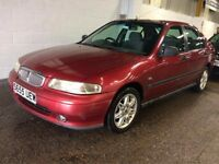 ROVER 400 416 1.6 AUTOMATIC PETROL 5 DOOR HATCHBACK MOT GOOD DRIVE CHEAP CAR NOT 200 25 45 ASTRA KA