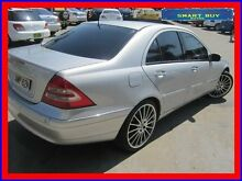 2002 Mercedes-Benz C320 W203 Elegance Silver 5 Speed Auto Tipshift Sedan Canada Bay Canada Bay Area Preview
