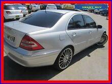 2002 Mercedes-Benz C320 W203 Elegance Silver 5 Speed Auto Tipshift Sedan Canada Bay Canada Bay Area Preview