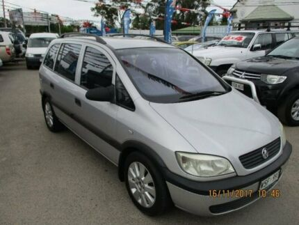 2001 Holden Zafira TT Silver 4 Speed Automatic Wagon