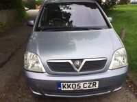 2005 VAUXHALL MERIVA GOOD CONDITION RELIABLE AND ECONOMICAL ONE YEAR MOT DRIVES NICE