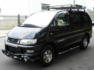 2006 Mitsubishi Delica SPACEGEAR Low Roof 8 seats Black 4 Speed Automatic Wagon Taren Point Sutherland Area Preview