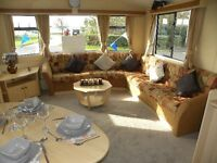 STATIC CARAVAN ON EAST YORKSHIRE COAST CLOSE TO BEACH NR HORNSEA,BRIDLINGTON,TUNSTALL,PATRINGTON