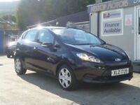 2009 FORD FIESTA STYLE 1.25 PLUS 80 . NIL DEPOSIT ON FINANCE